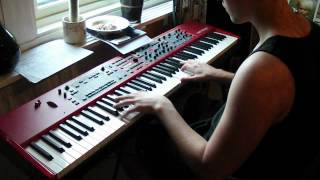 Intro to Bomfunk MC's - Freestyler on Nord Stage 2