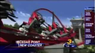 Cedar Point's 2013 Coaster - The First Look (WKYC News)