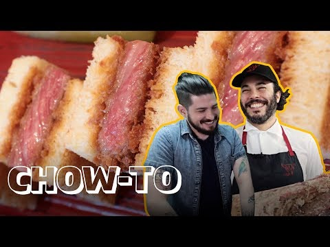 How America's Most Expensive Beef Sandwich is Made | CHOW-TO