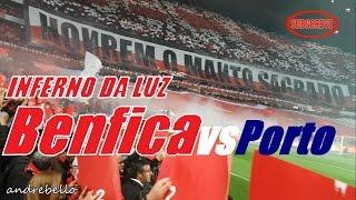 64 MIL NO INFERNO LUZ! SOMOS BENFICA! Benfica vs Porto - Hino & Coreografia *Samsung S8 Camara