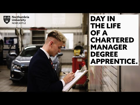 Day in the Life of a Chartered Manager Degree Apprentice