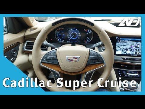 A bordo de un auto que se maneja solo - Cadillac Super Cruise en CT6