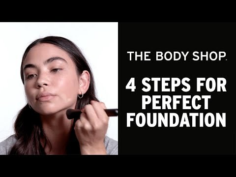 HOW TO: 4 steg till den perfekta foundation basen- The Body Shop