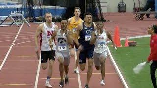 Big Ten Championship 4x400m Final   OSU Emerges From 5 Team Battle