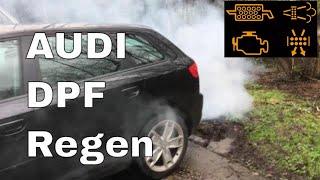 Audi A3 TDi getting a DPF Regen regeneration