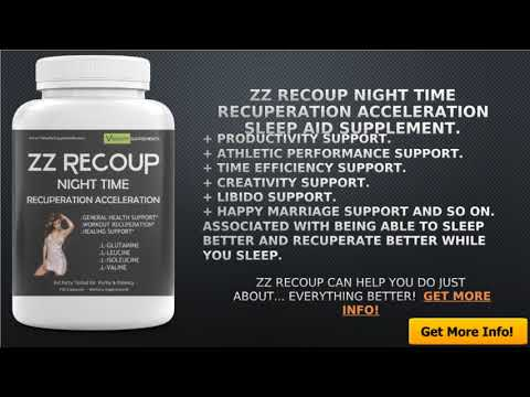 ZZ RECOUP How to Sleep Faster...