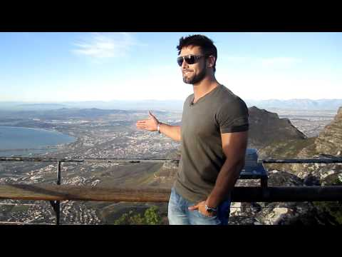 Justin Gabriel: WWE Smackdown superstar says vote for Table Mountain now!