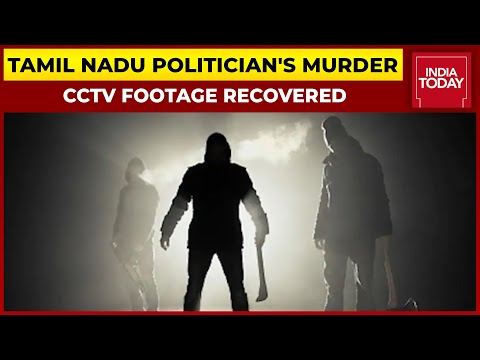 Joint Secretary Of A Political Party In Tamil Nadu Hacked To Death, Incident Caught On CCTV