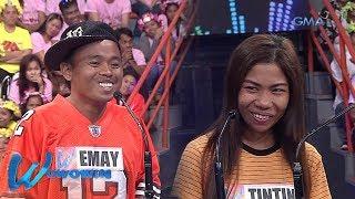 Wowowin: Binatang OFW, nagtapat ng pag-ibig sa kapwa niya contestant!
