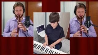 Hino 427 - Mais Perto Quero Estar - The Piano Flute Player - Instrumental (só música)