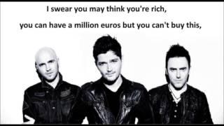 The Script - Millionaires (lyrics)