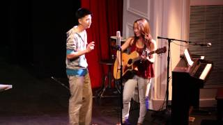 Take a Chance on Me - Mamma Mia! Cover by Claudia Chu and Brian Kim