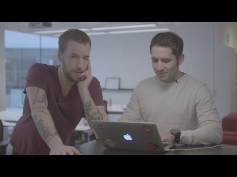 Nisse Hallberg jobbar på Mynewsdesk: Del 2 - Utvecklaren