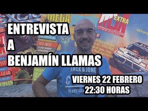 Entrevista a Benjamín Llamas