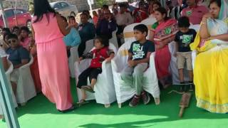 Mc jayshree hosting for a marwadi crowd