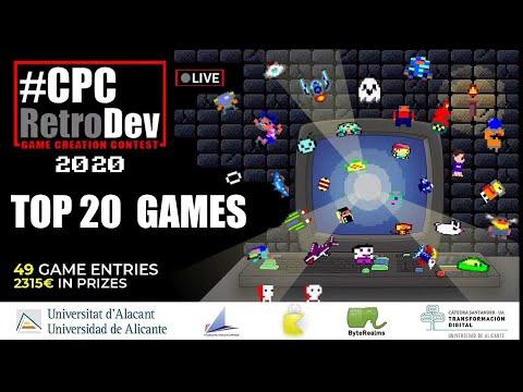 CPC RETRODEV 2020 TOP 20 GAMES
