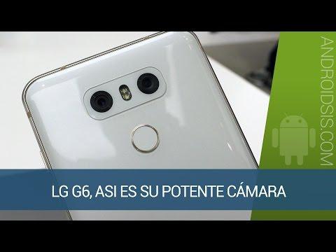 LG G6, así funciona su potente cámara