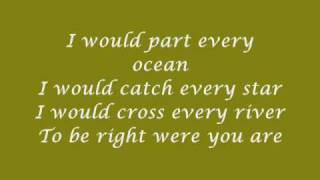 Maria Arredondo - Cross every river (Lyrics)