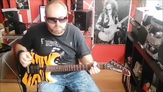Twisted Sister***I Wanna Rock * Guitar cover by Nono