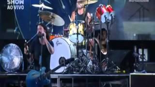 Foo Fighters - Rio de Janeiro - Maracanã - 25/01/15 - Taylor Hawkins - Drum Solo