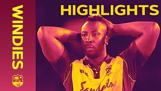 Bangladesh Defeat T20 World Champions - Windies v Bangladesh 3rd IT20 2018   Extended Highlights width=