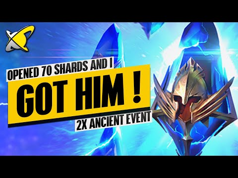 FINALLY, ONE OF MY MOST WANTED CHAMPS! | 2X Ancients Event Highlights | RAID: Shadow Legends