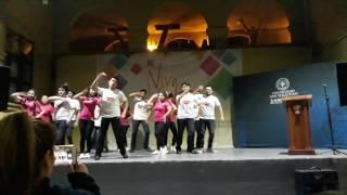 """Los 4. Contéstame"" coreografía de salsa cubana"
