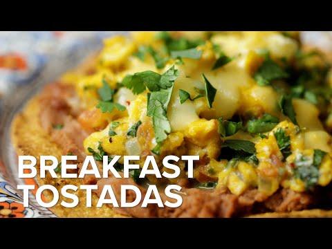 Breakfast Tostadas ? Tasty Recipes