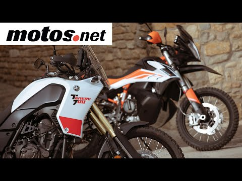 Comparativo KTM 790 Adventure R vs Yamaha Ténéré 700 / Prueba / Review en español