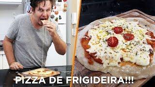 Pizza de frigideira - Cozinha Básica - OCSQN! #132