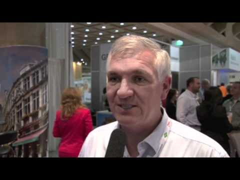 Daryl Keywood of Walthers DMC, South Africa, filmed at AIBTM 2011