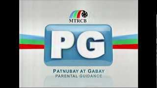 [HQ] MTRCB PG (Parental Guidance/Patnubay at Gabay) Tagalo 4x3 [No Logos/Watermarks]