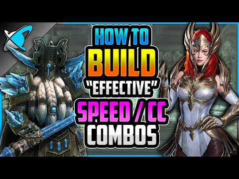 """HOW TO BUILD """" Effective"""" Speed / CC Combos 