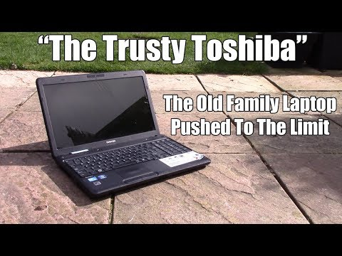 Pushing The Limits of An Old Family Laptop
