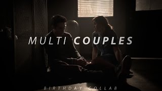 Multi-Couples [Birthday collab]