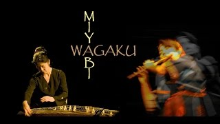 Japanese Koto music & Shinobue flute - Koto-instrument - Japanese music - Japanische Bambusflöte