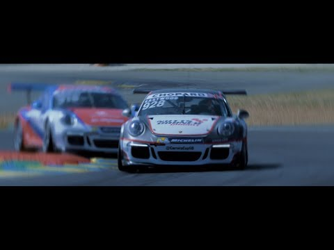 Porsche Carrera Cup GB. Junior Programme.