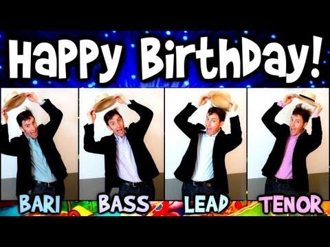 Julien Neel Vocals Happy Birthday Song A Cappella