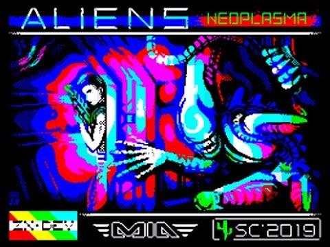 BITeLog 00A8: Aliens Neoplasma (ZX SPECTRUM)