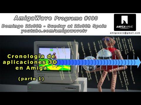 AmigaWave #190 - Cronología de las aplicaciones 3D en Commodore Amiga (parte 1).
