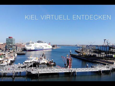 Stadtführung durch Kiel mit dem Stadtführer Uwe Trautsch
