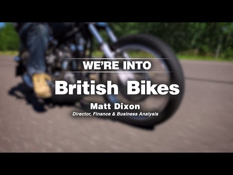 A Company of Enthusiasts: We're Into British Bikes