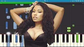 Nicki Minaj - No Frauds ft. Drake , Lil Wayne - Piano Tutorial