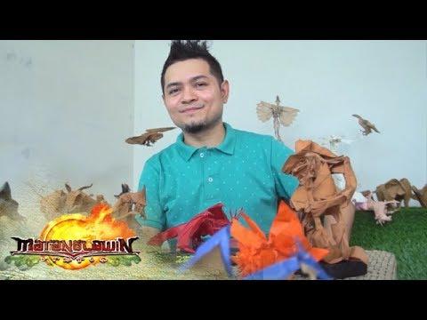 Endangered animals tampok sa mga likha ng Pinoy origami artist