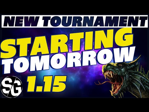 RAID SHADOW LEGENDS | New 1.15 TOURNAMENT REQUIREMENTS STARTING TOMORROW! BE READY!