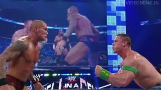 Undertaker 3H John Cena VS Legacy  Randy Orton  CM Punk   WWE HIGHLIGHTS 2Feb2018