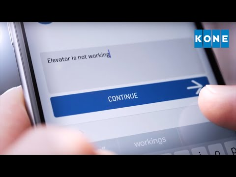 KONE Mobile: communication makes the elevator different