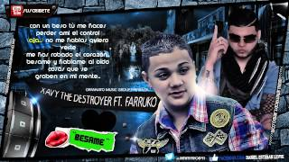 "Xavi ""The Destroyer"" Ft. Farruko - ""Besame"" (Official Remix) |Con Letra| ★ROMANTICO 2013★ / LIKE✔"