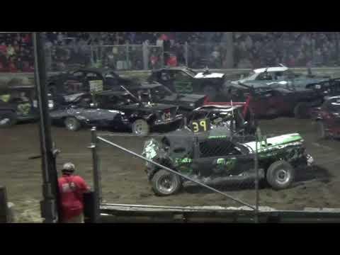 USA Demolition Derby Championship 2018 Big car Heat (Saline,Michigan)