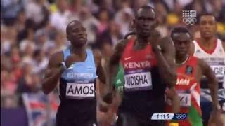 Rudisha London 800m W R 1:40.91